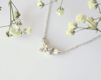Petite Blossom Necklace - Sterling Silver