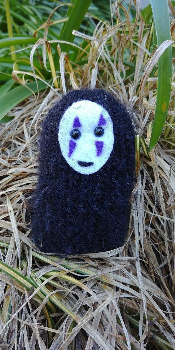 Knitting Pattern Diy Knit Your Own No Face Studio Ghibli