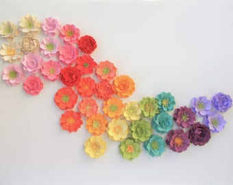 Plantable Seed Paper Flower Assortment of 50