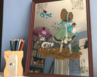 Holly hobbie mirror etsy
