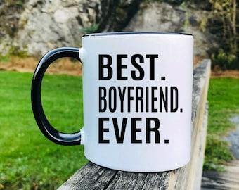 Best Boyfriend Ever - Mug - Boyfriend Gift - Gift For Boyfriend - Boyfriend Mug