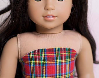 Tube Top for 18 Inch American Girl Dolls