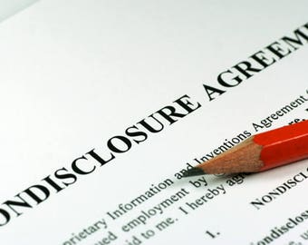 Nondisclosure Agreement (NDA) - Get Your NDA for Confidentiality Purposes - Protect Your Ideas