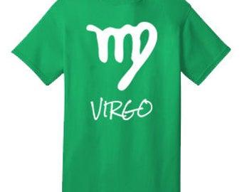 VIRGO 100% Cotton Tee Shirt #H012