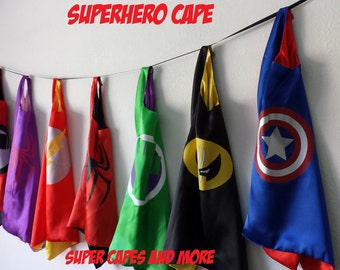 SUPER Sale!! 1 Superhero Cape - Ready to Ship from US