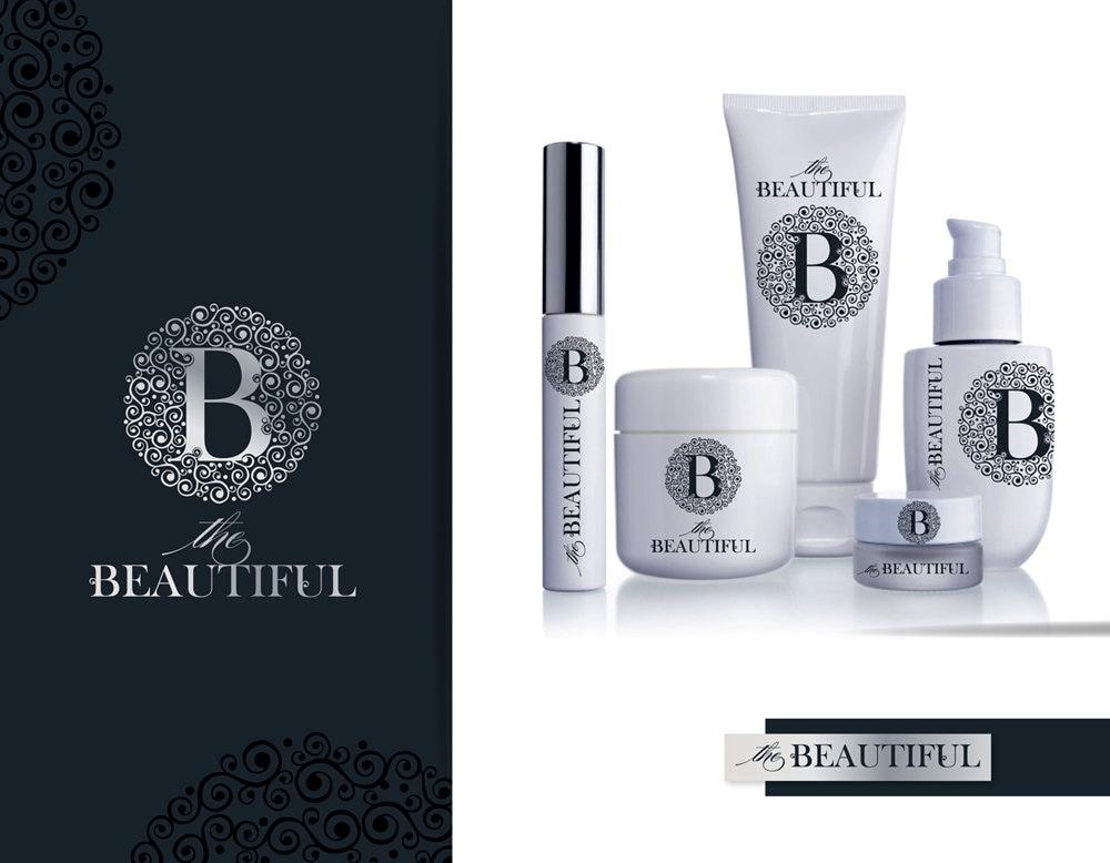 Premade Skin Care Logo Luxury Branding Beauty Natural