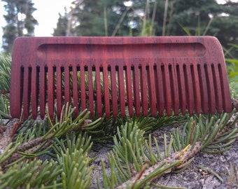 Men's Wooden Beard Comb
