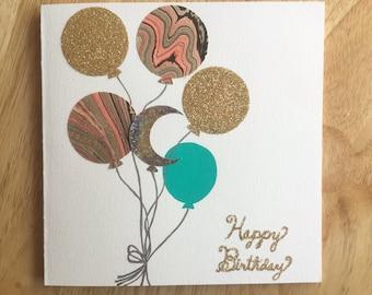 Balloons Birthday Cards