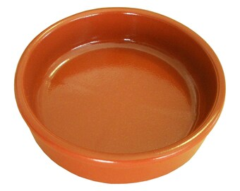 Genuine Terracotta Mediterranean Tapas and Dessert Dish Plates Casserole Made in Spain  sc 1 st  Etsy & Mediterranean plates | Etsy
