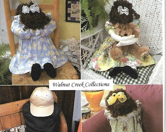 """Simplicity 9005   """"Kneeling""""  Dolls and Clothes     Uncut"""