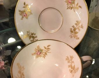 Tuscan Princess teacup and saucer
