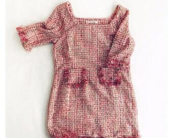 Sweven handmade fringed dress