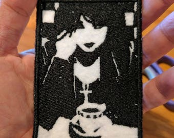 Death from Sandman embroidered patch