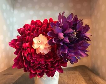 Bouquet Hair Comb