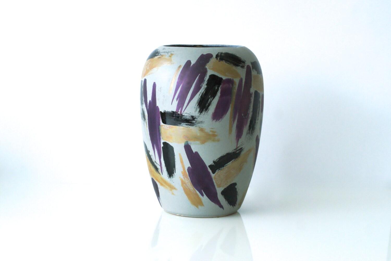 West german pottery vase scheurich vase memphis vase zoom reviewsmspy