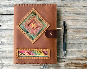 Bohemian Journal // Boho Journal // Bohemian // Hippie Jounral // Journal // Leather Notebook // Hippie // Boho Gifts