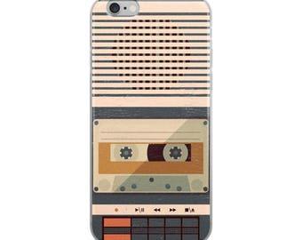 Retro Tape Recorder iPhone Case
