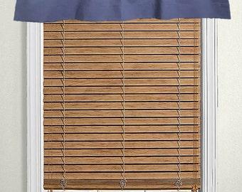 Navy Blue Window Valance