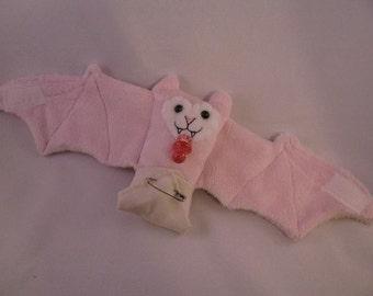 Baby Girl Bat Cup Sleeve/Stuffed Animal/Coffee Cozie