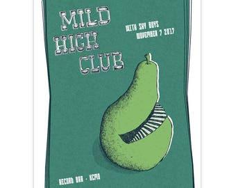 Mild High Club Gig Poster