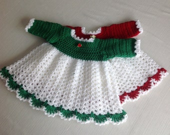 Baby Dress Winter  PATTERN   Size 6 - 9 Months Mary