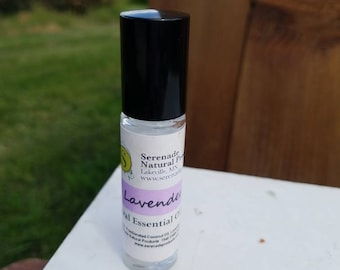 Lavender Roll On / Essential Oil Roll On/ 100% Natural / Essential Oil Perfume