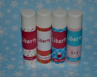 Personalized Children's Lip Balm, Personalized Children's Gift, Christmas Stocking Stuffer, Child Friendly Lip Balm, Kid gift, under 10 gift