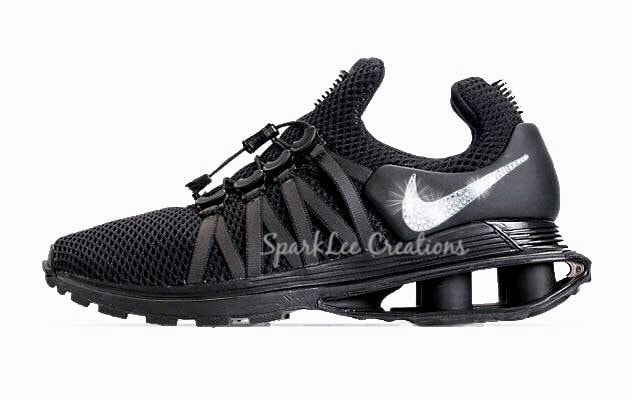 ... Air Zoom Pegasus 35 Customized With Swarovski Crystal Rhinestones  Bling  good out x bce37 3286e Nike Shox Gravity Bling Nike Shox Rhinestone  Nike Shox ... 033dc5922