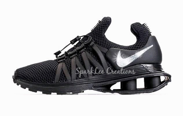 ... Crystal Rhinestones Bling  good out x bce37 3286e Nike Shox Gravity  Bling Nike Shox Rhinestone Nike Shox Gravi ... 7fbb8412a4f5