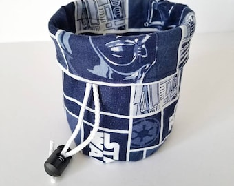 Star Wars dice bag, dice pouch, drawstring bag, Bag of Holding, small pouch, marble bag, card bag, game bag