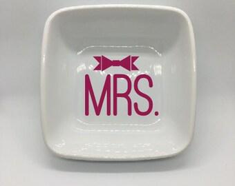 MRS Square Jewelry Dish