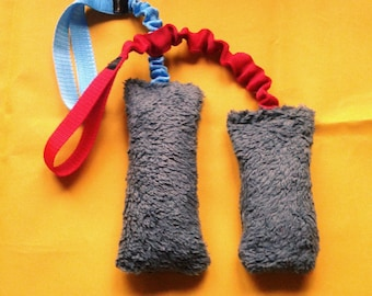 Flexible fluffy tug - what a joy for your dog!