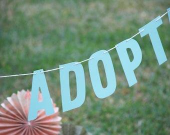 Happy Adoption Day Banner