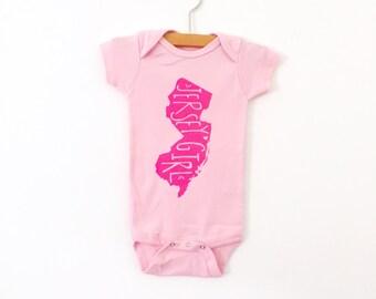 Bruce Springsteen Onesie - Jersey Girl Onesie - Organic Baby Onesie - Screen Printed Baby Clothing - Organic Cotton Bodysuit - New Jersey