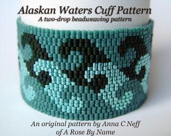 Alaskan Waters Cuff Pattern