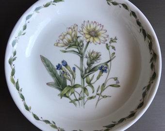 Noritake Individual Pasta Bowl Casual Gourmet Garden Silphium Sri Lanka Vintage Floral China ~ #M1026