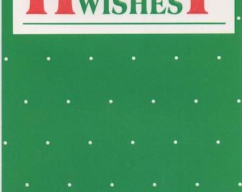 Christmas Card, Used  Holiday Wishes, c1989, good shape