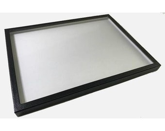 """Riker Mount Butterfly Display Case 14 1/2x8x1 1/2"""" Chipboard Empty"""