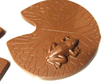 Frog on a lilly pad chocolate