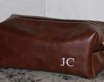 Gift for Him/ Dopp Kit bag / Toiletry bag /Travel Bag / Groomsman gift