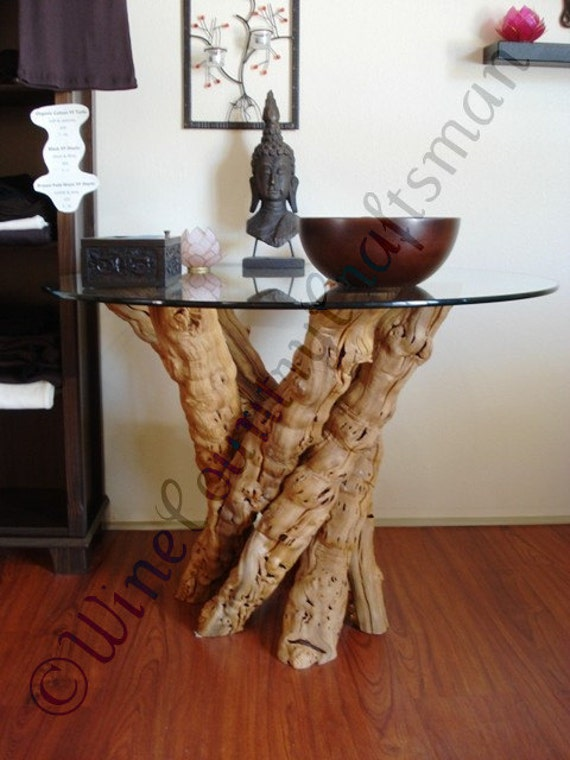 Old Vine Grapevine Dining Table 100% Natural And Recycled