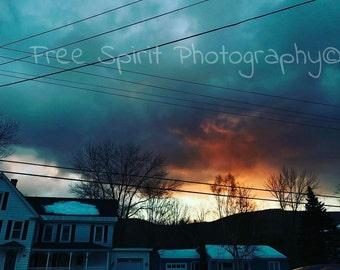 Sunrise, Photography, Digital