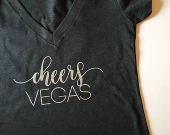 Cheers Vegas, Vegas Bachelorette, Bachelorette Party Shirts. Bridal Party Shirts. Bridesmaid shirt. Bachelorette Party, Vegas before  vows