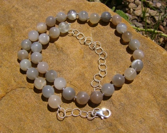 Necklace - Moonstone/Silver