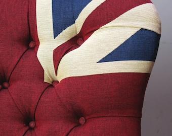 Winston Union Jack Upholstered Armchair