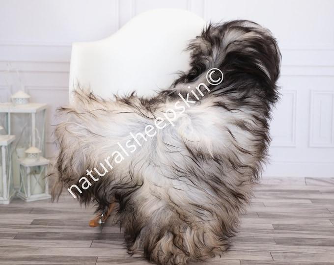 Icelandic Sheepskin | Real Sheepskin Rug | Gray Sheepskin Rug | Fur Rug | Homedecor #febisl9