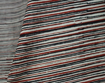 Block Print Fabric Boho Soft Cotton fabric by the yard, Hand Printed Fabric Indian Cotton Dress Fabric bohemian indian fabrics kid dress