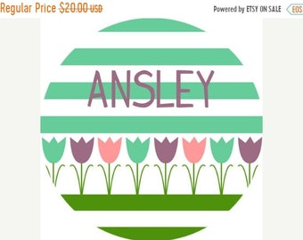 Memorial Day Sale personalized Melamine Plate - custom melamine flower