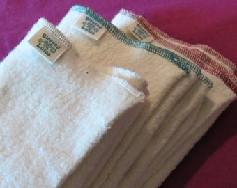 Cloth Diaper- Organic Cotton/Hemp Fleece, size MEDIUM