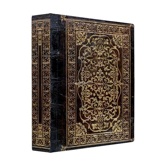 3 Ring Binder Gilded Tome Book 4 Sizes Available